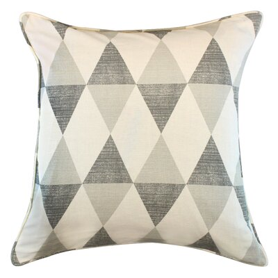 Gomez Diamond Cotton Throw Pillow