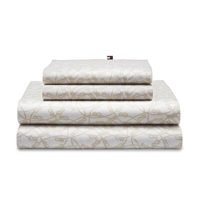 Knotty Rope 180 Thread Count Sheet Set Size: Twin