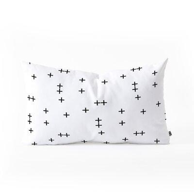 Little Arrow Design Co Cross Lumbar Pillow