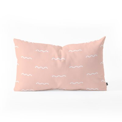 Kelly Haines Squiggle Lumbar Pillow