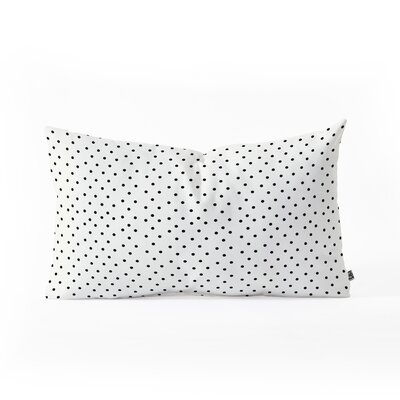 Allyson Johnson Tiny Polka Dots Lumbar Pillow