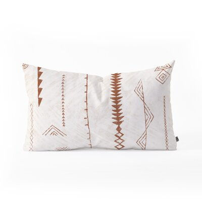 Dash and Ash Blank Slate Lumbar Pillow