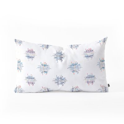 Holli Zollinger French Ikat Dot Lumbar Pillow