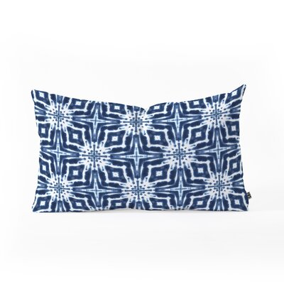Jacqueline Maldonado Watercolor Shibori Lumbar Pillow