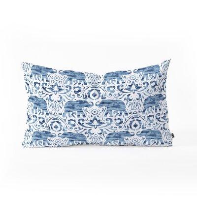Jacqueline Maldonado Elephant Damask Lumbar Pillow