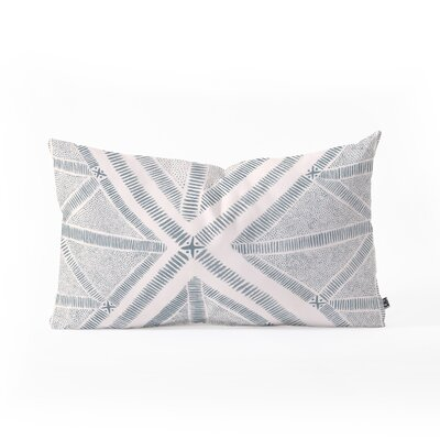Dash and Ash Maria Azul Marino Lumbar Pillow