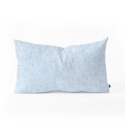Holli Zollinger Acid Wash Lumbar Pillow Color: Light Blue