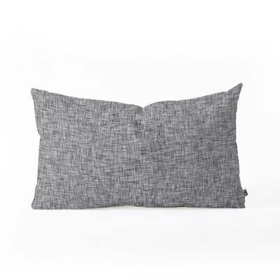 Holli Zollinger Acid Wash Lumbar Pillow Color: Gray