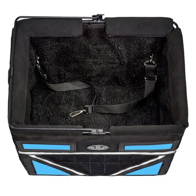 Pet-Pilot Max Bike Dog Carrier Color: Neon Blue