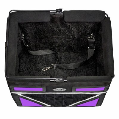 Pet-Pilot Max Bike Dog Carrier Color: Purple Passion