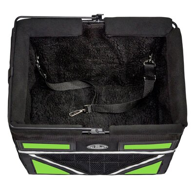 Pet-Pilot Max Bike Dog Carrier Color: Neon Green