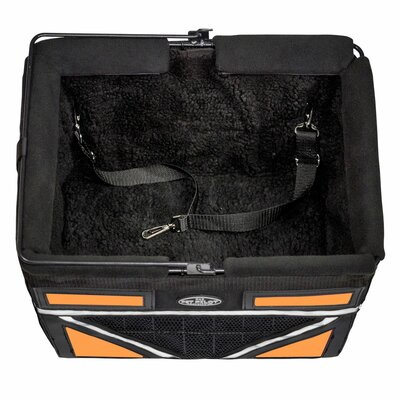 Pet-Pilot Max Bike Dog Carrier Color: Neon Orange