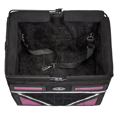 Pet-Pilot Max Bike Dog Carrier Color: Neon Pink