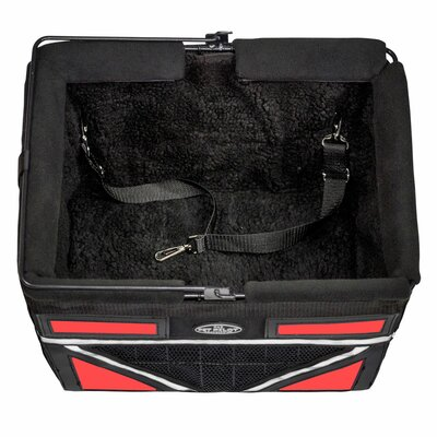 Pet-Pilot Max Bike Dog Carrier Color: Cherry Red