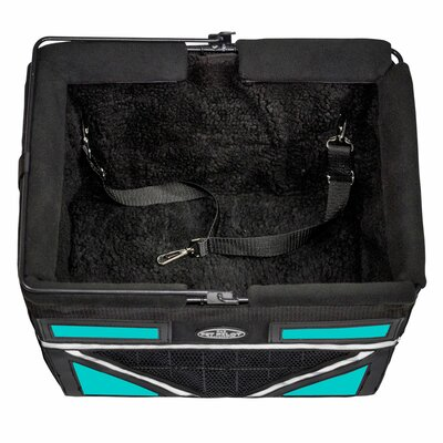 Pet-Pilot Max Bike Dog Carrier Color: Turquoise