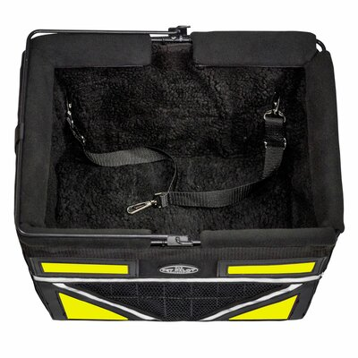 Pet-Pilot Max Bike Dog Carrier Color: Neon Yellow
