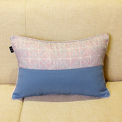 Krokowski Embroidery Cotton Pillow Cover