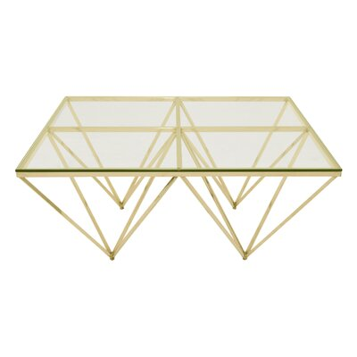 Wilder End Table Color: Gold