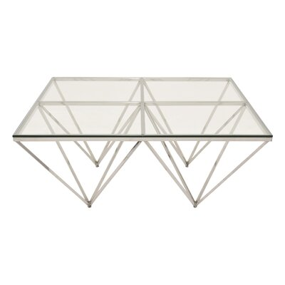 Wilder End Table Color: Silver