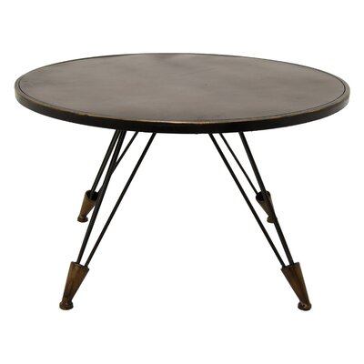 Mccully End Table Size: 18.25 H x 30.75 W x 30.75 D