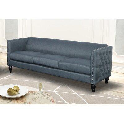 Annuziata Living Room Sofa Upholstery: Blue