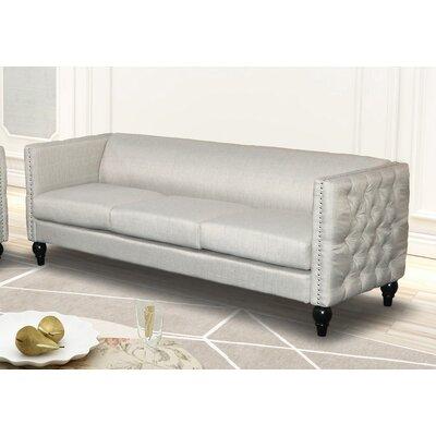 Annuziata Living Room Sofa Upholstery: Beige