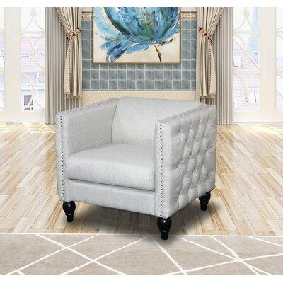 Annuziata Living Room Armchair Upholstery: Beige