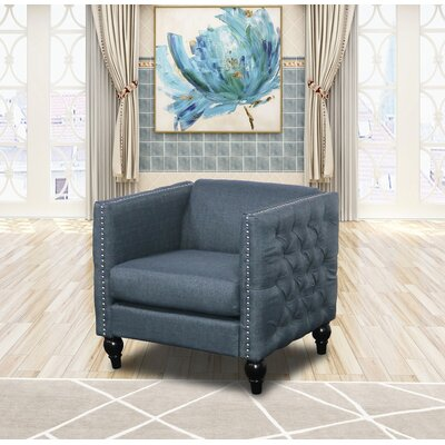 Annuziata Living Room Armchair Upholstery: Blue