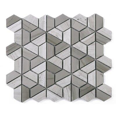 SAMPLE - Wooden Fidget Spinner Marble Mosaic Tile in Gray