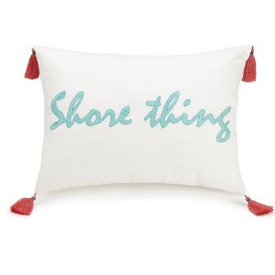 Go Fish Shore Thing Cotton Lumbar Pillow