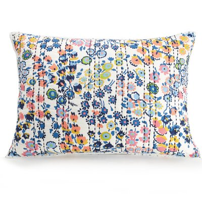 Petite Floral Quilted Sham Size: King