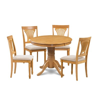 Kelston Mills 5 Piece Extendable Breakfast Nook Dining Set