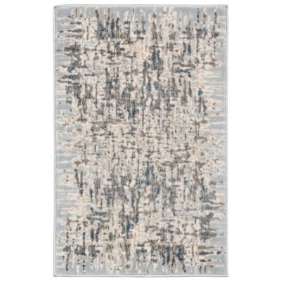 Lhasa Shadows Blue Area Rug Rug Size: Rectangle 410 W x  76 L