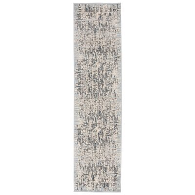 Lhasa Shadows Blue Area Rug Rug Size: Runner 111 W x  76 L