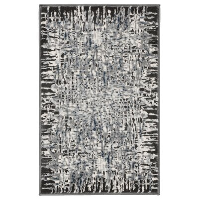 Lhasa Shadows Gray Area Rug Rug Size: Rectangle 33 W x  411 L