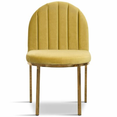 Upholstered Dining Chair Upholstery Color: Venice Marigold