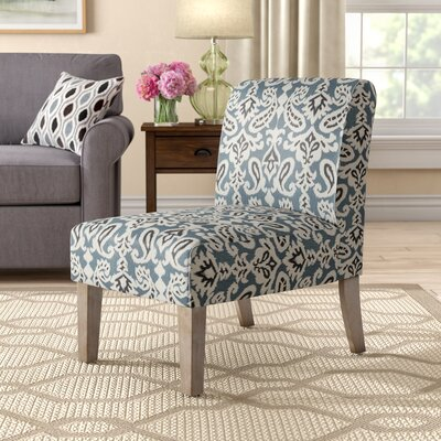 Jemima Slipper Chair Upholstery: Ashlyn Blue