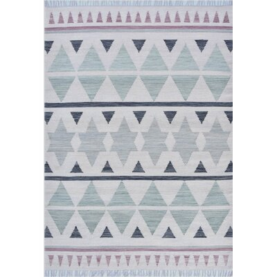 Patillo Hand-Woven Wool Sage Area Rug Rug Size: Rectangle 8  x 10