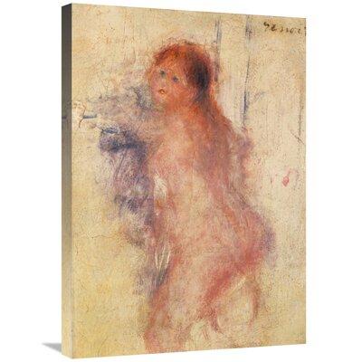 'Standing Nude Woman' by Pierre-Auguste Renoir Print on Canvas CB87C27492AC409F88FE87FEE7E7B9B8