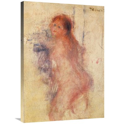 'Standing Nude Woman' by Pierre-Auguste Renoir Print on Canvas 5563FA04752341D892E15B93BE5106FC