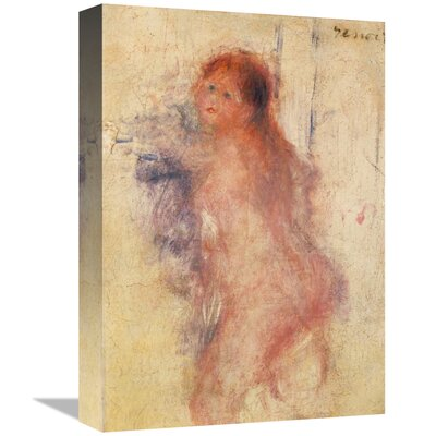 'Standing Nude Woman' by Pierre-Auguste Renoir Print on Canvas B11AC239F06F4787A549A19FD9923E2A