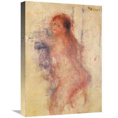 'Standing Nude Woman' by Pierre-Auguste Renoir Print on Canvas D88882C5EBD74887BBB1D8C196F2286B