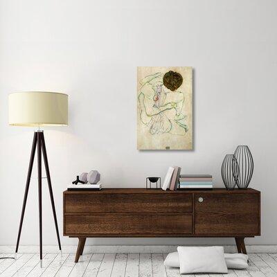 'Seated Nude Woman' Print on Canvas EBBE05E5BDA64EB8987E7C7D8E2DBED4