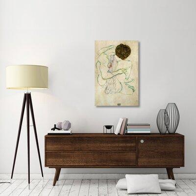 'Seated Nude Woman' Print on Canvas B6AF5B2B507740B99461B0EDF27297B1