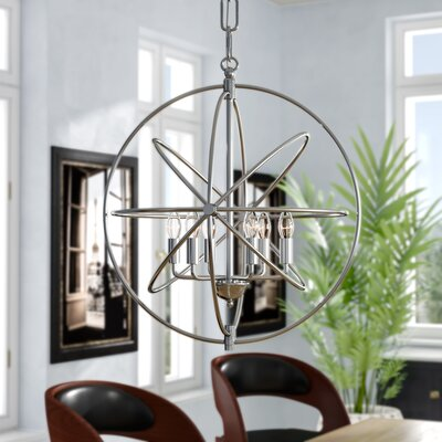Hamby Foyer Pendant Finish: Polished Nickel