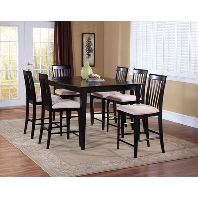 Crestwood 7 Piece Counter Height Dining Set
