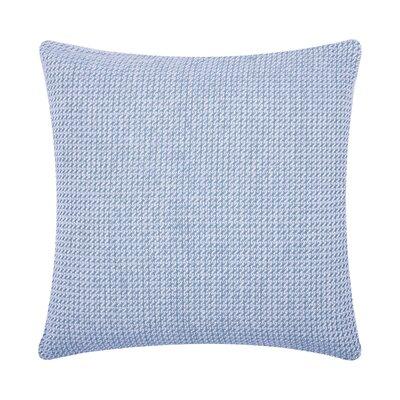 Langford Embroidered Cotton Throw Pillow Color: Santorini