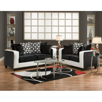 Debussy 2 Piece Living Room Set