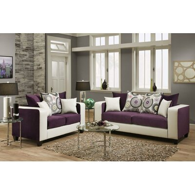 Gerstein 2 Piece Living Room Set