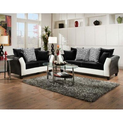 Fofana 2 Piece Living Room Set